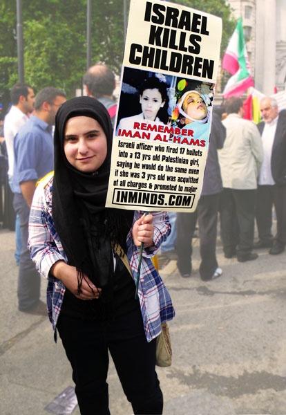 Israel Kills Children by kombizz