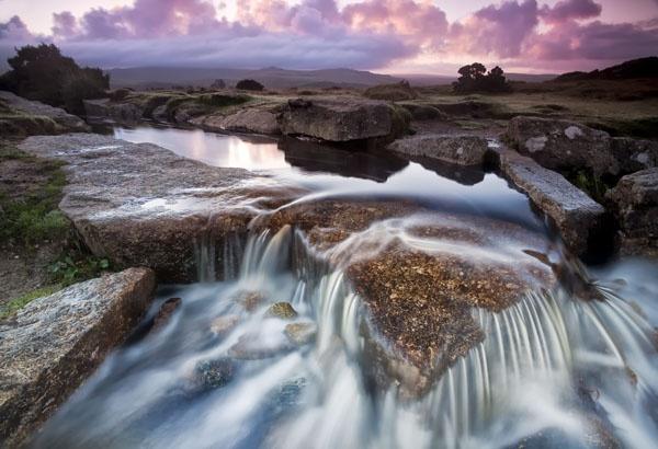 Dawn Falls by Menzabac