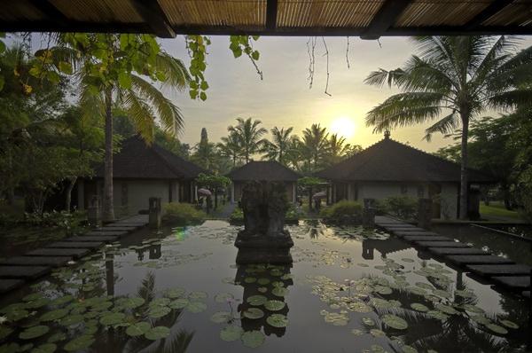 Balinese Sunrise by ferguspatterson