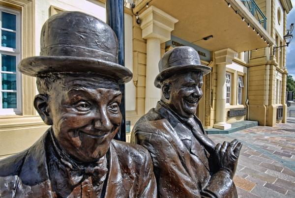 Laurel & Hardy at Ulveston by Rhino