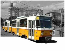 Buda Tram at Moskva Ter