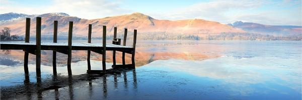 A Winter\'s Dawn on Derwentwater by bazhutton