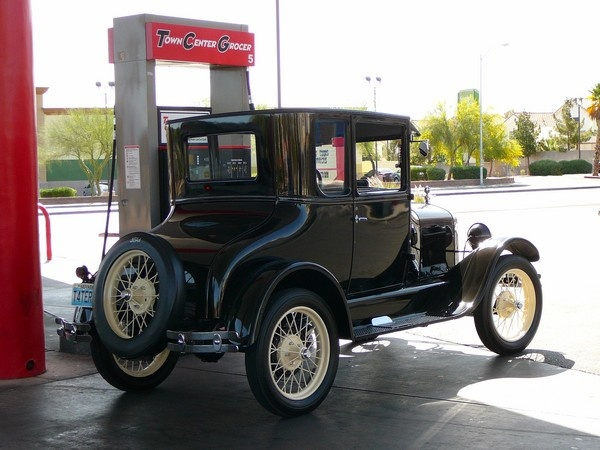 Model T Ford by artcubis