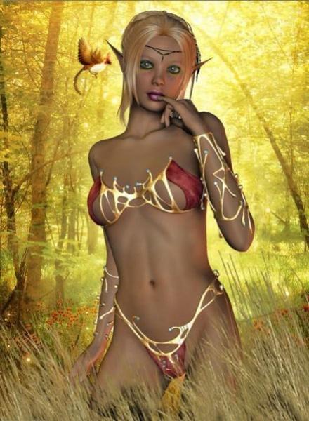 Forest Princess by leginR