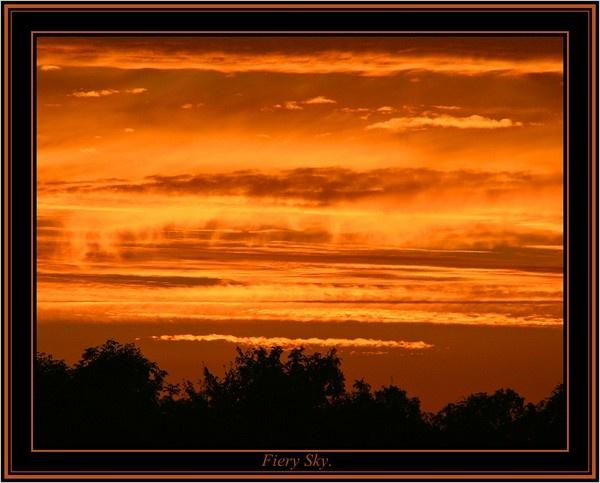 Fiery Sky. by Dee73