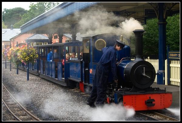 Exbury Central Steam Railway by SugarDJ
