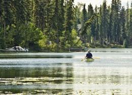 Fishing on Watch Lake