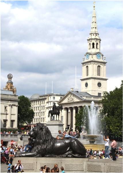 Trafalgar Square by Lillian