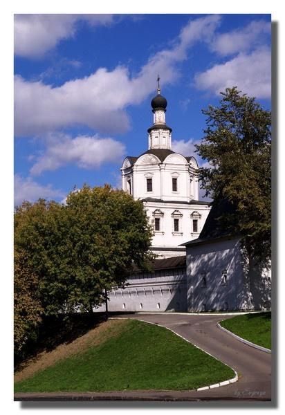 Walls and Church by Evgenya