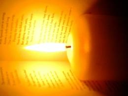 Candlelit literature