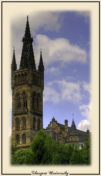 Glasgow University by digital_boi