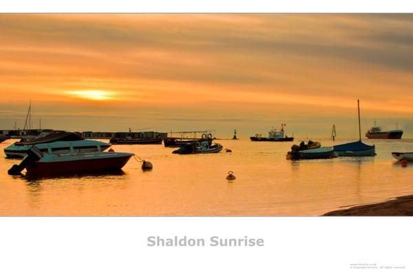 Shaldon Sunrise by Chiddy