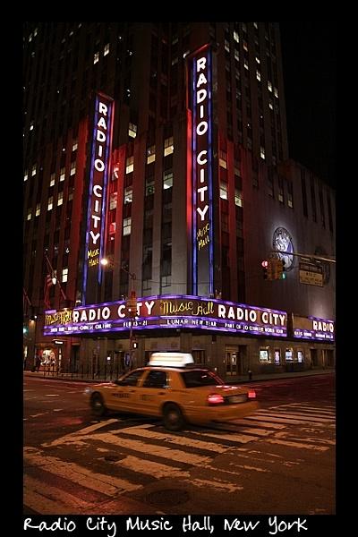 Radio City NY by FoolsAndKings