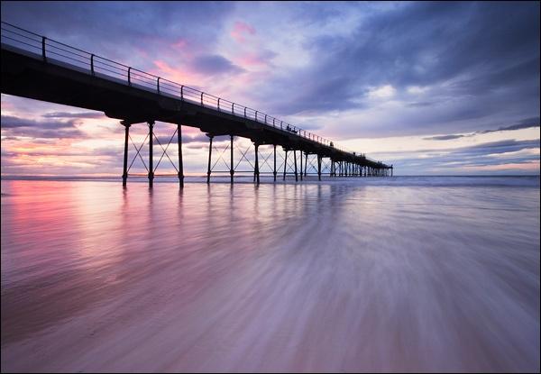 Summer Pier by LeighRebecca