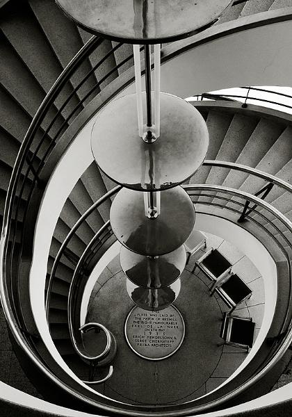 De La Warr Staircase by SteveCharles