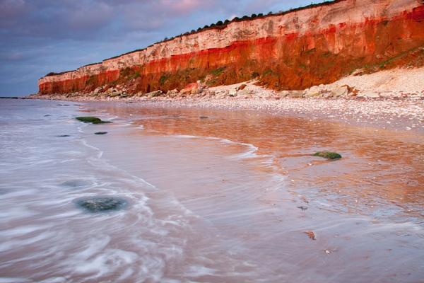 Hunstanton Cliffs by smartiemart