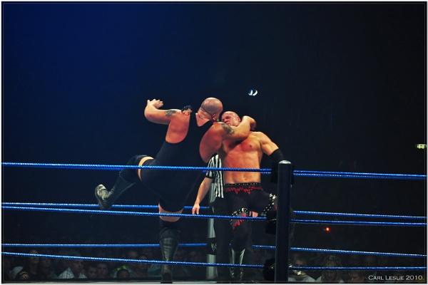 WWE Wrestling, Big Show Vs Kane by torres99