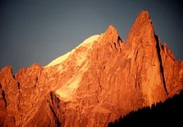 evening light over the Dru