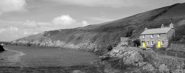 Port Quin\'s cottages by Graham00