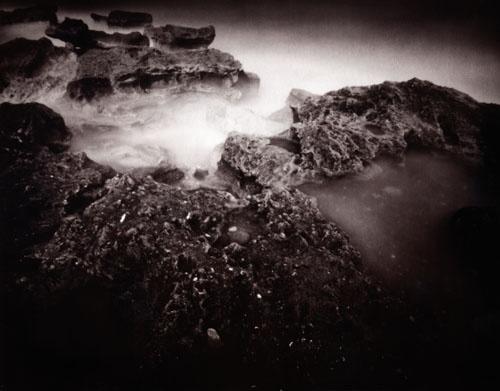 Dark Misty Rocks by PLynch