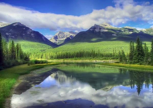 Canadian Rockies by JoHa