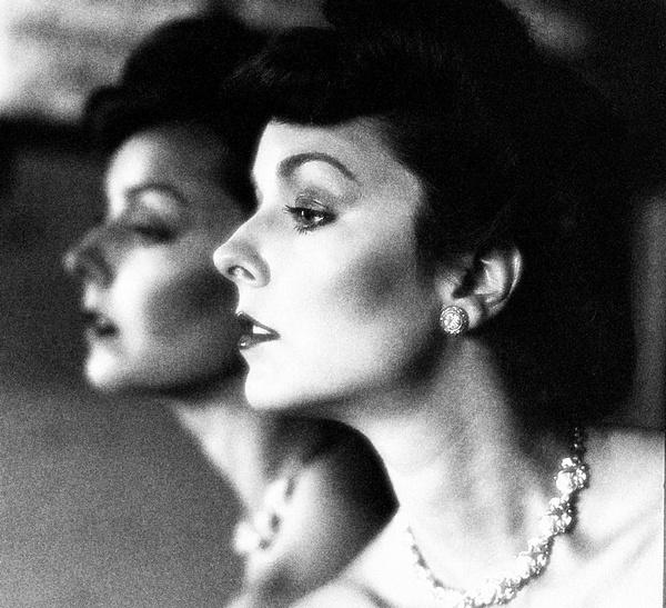 Suzanne in an antique mirror. by Aldo Panzieri