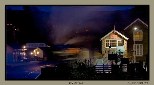 Ghost Train by GlynnisFrith