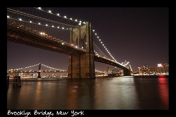 Brooklyn Bridge NY by FoolsAndKings