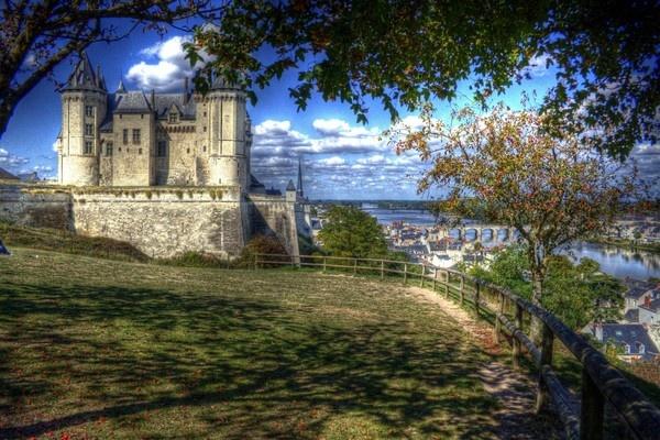 Chateau de Saumur by chant