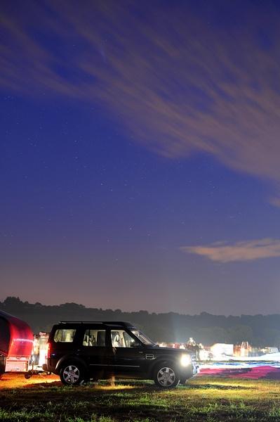 Balloon Fiesta Twilight by joelrouse