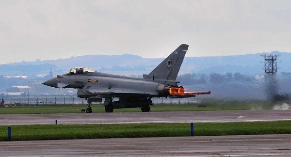 Typhoon of No 6 Sqd at Leuchars by JG123456