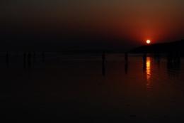 Sunset saying Good Bye...!!!