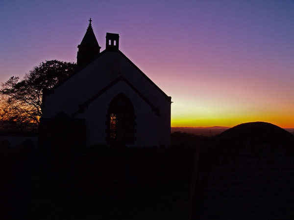 Mouswald Church in the Gloaming by Gilbrae