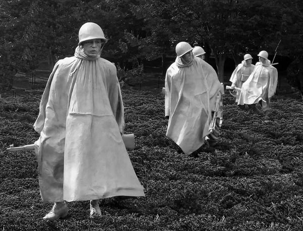 Korean War Memorial Washington, D. C. by jbsaladino