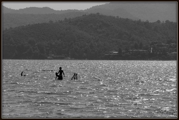 Boys fishing by Fred_Bear