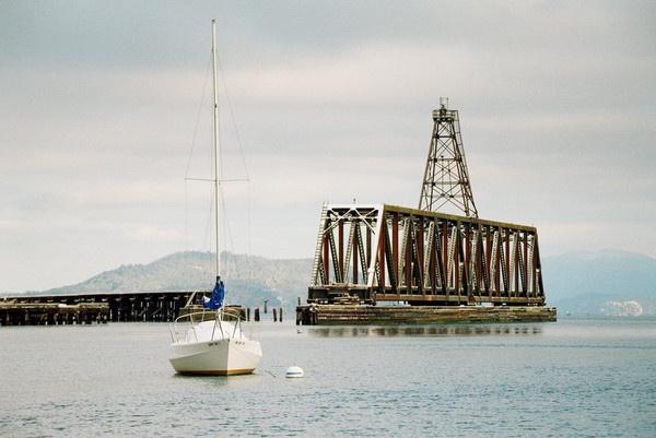 Sailboat Bridge by Brentlee