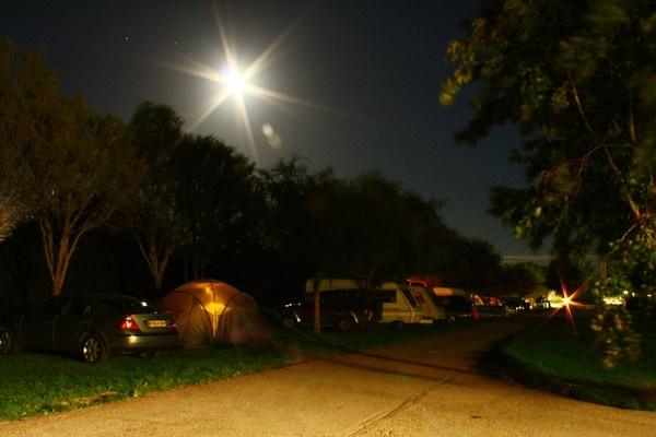 moonlight over campsite by dEOSnnis70
