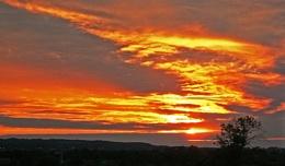 M6 sunset