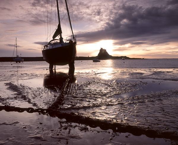 Early morning, Holy Island by landscapepics