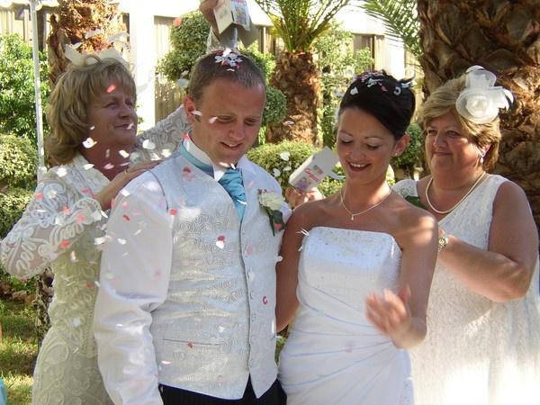 My bruvvers wedding in Cyprus