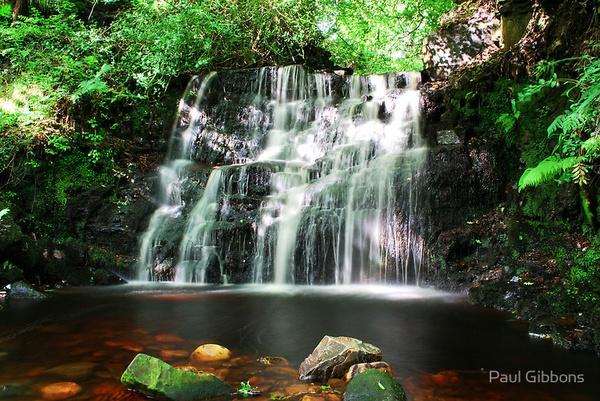 Dappled Waterfall by spottydog06