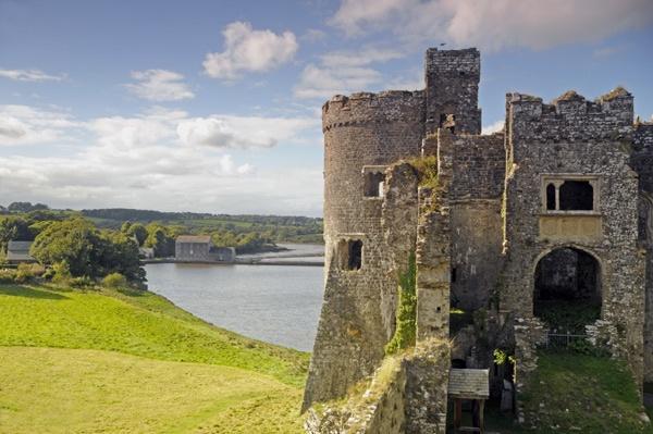 Carew Castle. by pen220