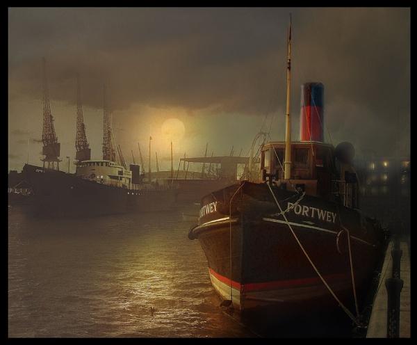 Docklands by CliveA