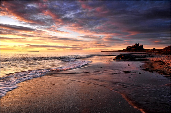 Colours of Dawn ,Bamburgh . by phil99