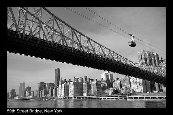 59th Street Bridge, NY by FoolsAndKings