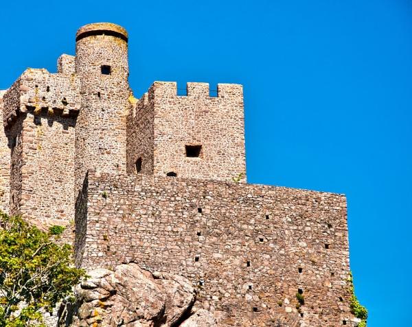 Gorey castle - Jersey by Wallybazoom