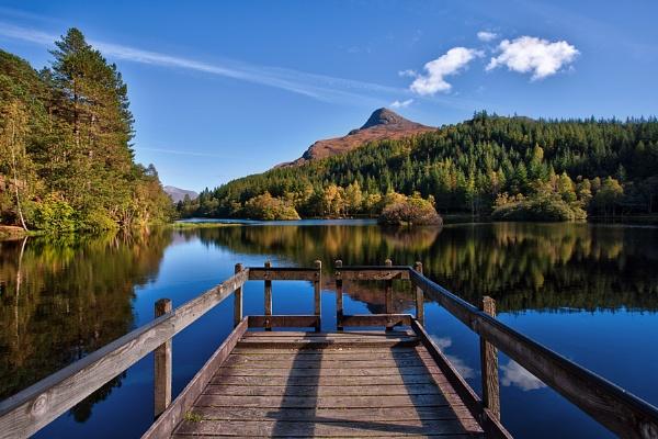 Glencoe lochan by treblecel