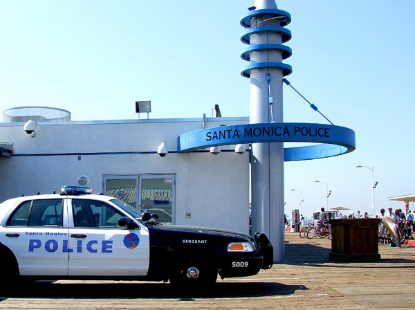 Police Station on the Pier by andy-coleman