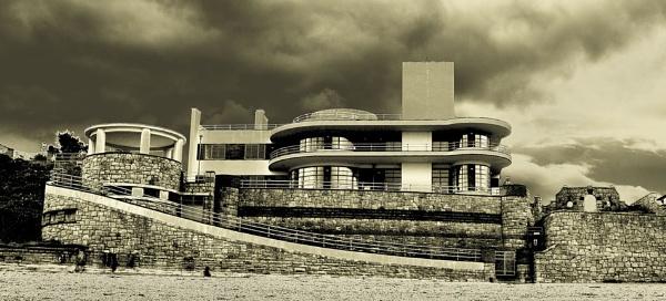 Hercule Poirot house by wynn469