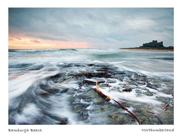 Bamburgh Beach by michaelcombe